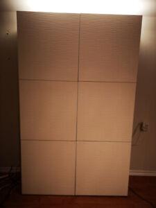 Large storage combination commode / armoire de rangement