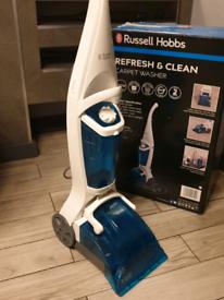 Carpet washer in box