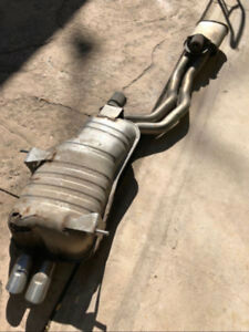BMW E46 OEM Muffler and resonator BEST OFFER