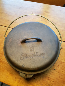 Findlay #9 covered cast iron pot