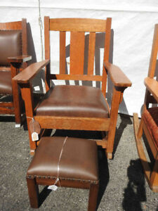 antique arts and craft rockers and chairs..restored