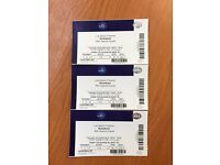 Nickelback O2 tickets x 3