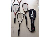 Rackets , Sqaush