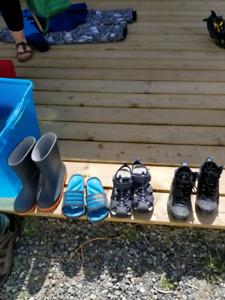 Size 3 kids footwear