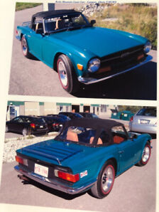 Classic 1972 TR6 for sale