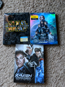 DVD and Blu-Ray movies.