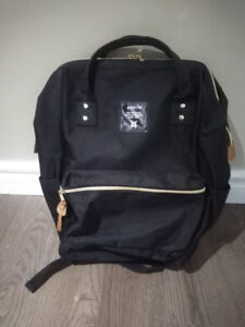 Anello Hinge Clasp Backpack - Black