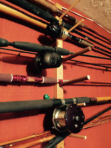 Fishing rods. Lots of choices  each one 25.00