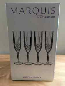 Marquis by Waterford  Brady Flute set of 4 Kitchener / Waterloo Kitchener Area image 1