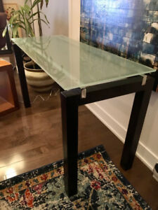 Table console en verre Structube