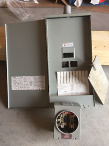 Electrical Panel and Meter Base