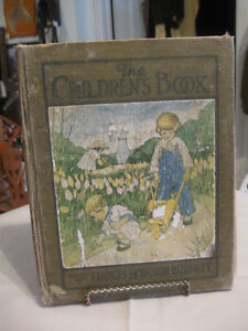 GENUINE OLD ANTIQUE CHILD'S BEDTIME-STORY-BOOK [1907]