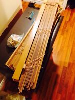 2 Good Quality Wooden Blinds
