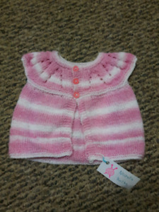 Hand Knit Baby Cardigans