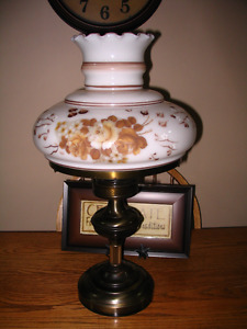Tiffany or Hurricane Table Lamp