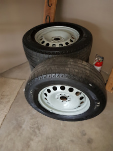 Snow Tires and Rims 17 inch