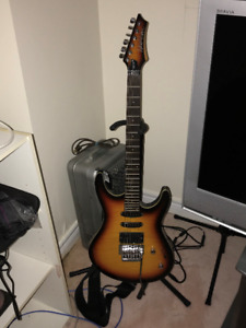 Washburn RX25 Electric Guitar with stand