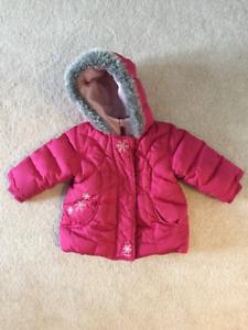 snow/fleece jackets 12-18 months