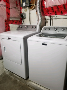Washer and dryer Maytag