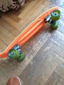 Orange Penny Board