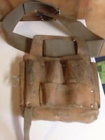 Leather tool pouch