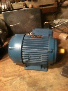 motor electric 1hp 3 ph Peterborough Peterborough Area image 2