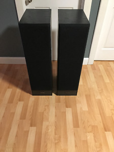 Abstract Tower Speakers