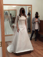 High Neck Sottero Midgley Couture Wedding Dress- $1000