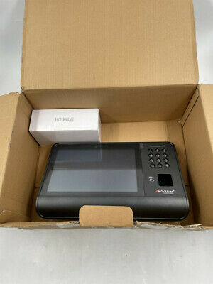 Novatime Nt8000b-fp Smart Clockkiosk Fingerprint Reader- Charcoal