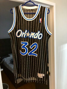 AUTHENTIC NBA JERSEY ORLANDO MAGIC #32 Shaquille O'neal SEZE S