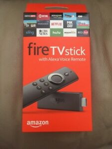 Amazon Fire TV Stick - Alexa Voice Remote - Latest Edition