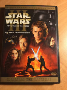 Star Wars - Épisode III - La revanche des Sith (Film DVD)