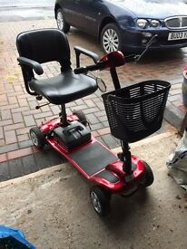KR Aerolite mobility scooter