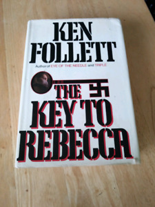 Signed first edition ken follett the key to rebecca