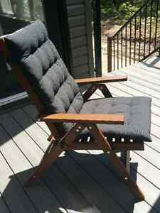 Ikea Reclining outdoor  chair & Seat/back pad