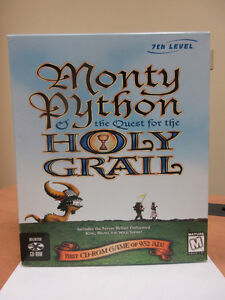 Monty Python & the Quest for the Holy Grail CD-ROM Game