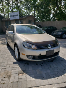 2013 Volkswagen Golf TDI Wagon, One Owner, No Accident