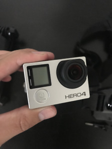 GoPro Hero4 Silver + Accessories