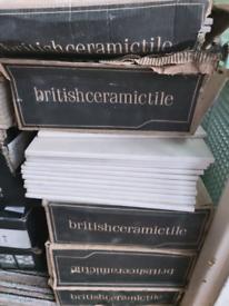 British ceramic wall / floor tiles