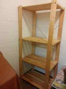 Shelving unit for storage