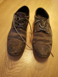 Augusta Horse Leather Shoes Size 41 Grey