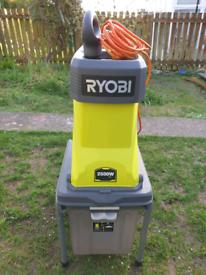 Ryobi 2500w garden shredder