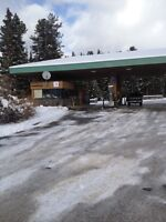 cashier job with accommodation in Lake Louise!