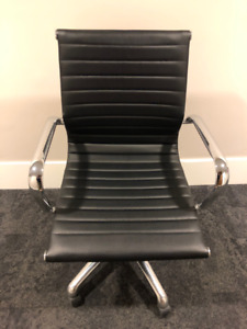 6 Replica Eames Half Back Office Chairs.