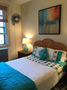 $550 / 158ft2 - Beautifully furnished room for rent in 3 BR Apt.