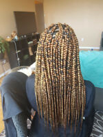 AFRICAN HAIR STYLIST, specialist in all kinds of braids, yarn