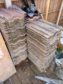 Roof tiles, many only a year old - free to collect