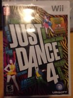 Wii JUST DANCE 4 video game