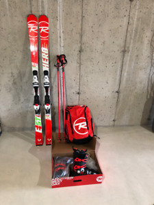ROSSIGNOL HERO E ST Expert Complete Ski Package