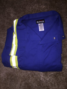 Flame resistant coveralls